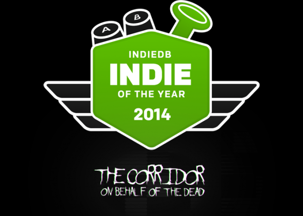 Help The Corridor: On Behalf Of The Dead win the indiedb #ioty2014 Indie of the Year!